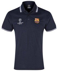 FCバルセロナ  UEFA CL オフィシャルポロシャツ Navy