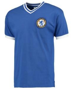 チェルシー  オフィシャルレトロ1960ホームシャツ Blue