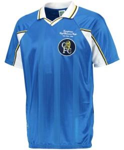 チェルシー  オフィシャルレトロ1998ホームシャツ Blue