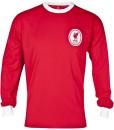 リバプール  オフィシャルレトロ1964ホーム ロングスリーブシャツ Red