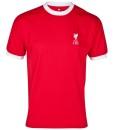 リバプール  オフィシャルレトロ1973ホームシャツ Red