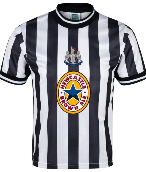 ニューカッスルユナイテッド  オフィシャルレトロ1998ホームシャツ White/Black 1