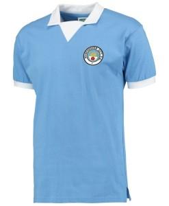 マンチェスターシティ  オフィシャルレトロ1976ホームシャツ City Blue
