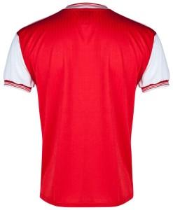 アーセナル  オフィシャルレトロ1985ホームシャツ Red