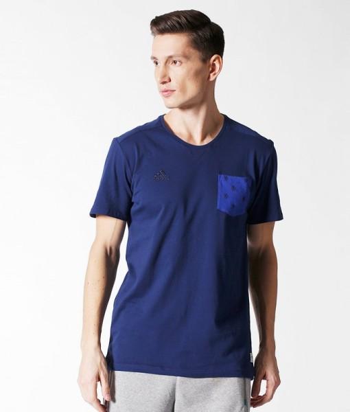 adidas チェルシー SFTシャツ Navy 1