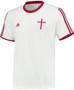 adidas ACミラン  コアTシャツ White
