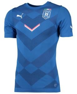 PUMA イタリア  スタジアムジャージーシャツ Blue