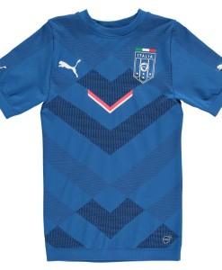 PUMA イタリア  ACTVジャージーシャツ Blue