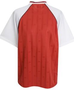アーセナル  オフィシャルレトロ1988ホームシャツ Red