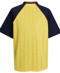 アーセナル  オフィシャルレトロ1988アウェイシャツ Yellow