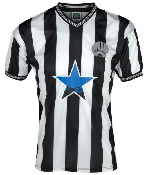 ニューカッスルユナイテッド  オフィシャルレトロ1984ホームシャツ White/Black 1