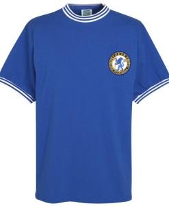 チェルシー  オフィシャルレトロ1963ホームシャツ Blue