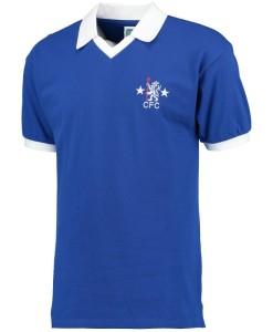 チェルシー  オフィシャルレトロ1976ホームシャツ Blue