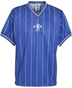 チェルシー  オフィシャルレトロ1982ホームシャツ Blue