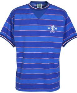 チェルシー  オフィシャルレトロ1984ホームシャツ Blue