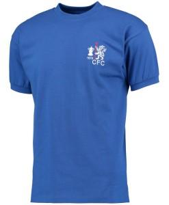チェルシー  オフィシャルレトロ1970ホームシャツ Blue