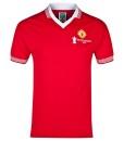 マンチェスターユナイテッド  オフィシャルレトロ1977ホームシャツ Red
