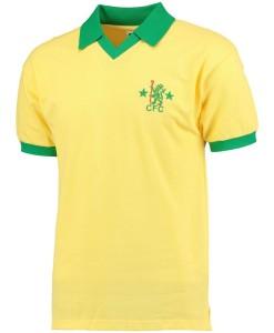 チェルシー  オフィシャルレトロ1980アウェイシャツ Yellow