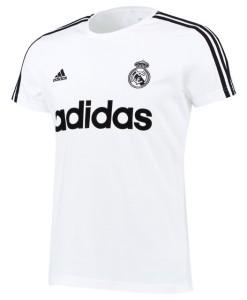 adidas レアルマドリード グラフィックTシャツ White