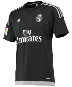 adidas レアルマドリード 15/16 ホーム GKシャツ Black