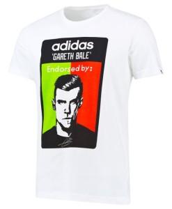 adidas レアルマドリード ベイルTシャツ White