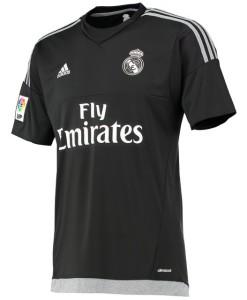 adidas レアルマドリード 15/16 ホーム KidsGKシャツ Black