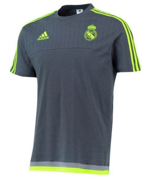 adidas レアルマドリード トレーニングTシャツ Grey 1