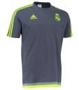 adidas レアルマドリード トレーニングTシャツ Grey