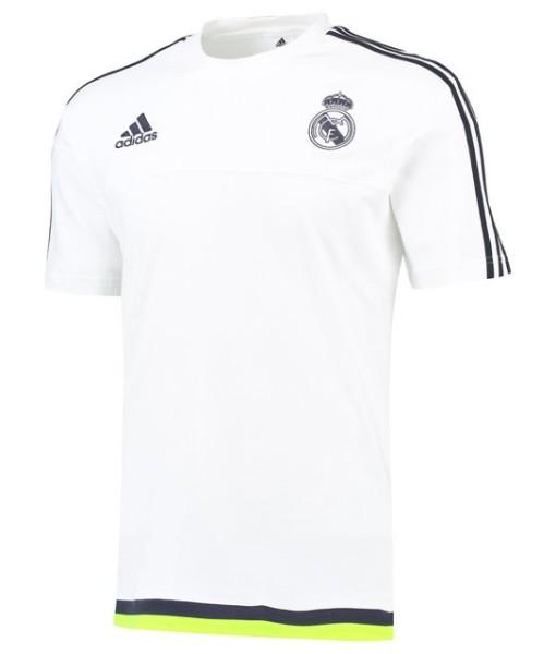 adidas レアルマドリード トレーニングTシャツ White 1