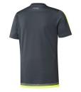 adidas レアルマドリード トレーニングジャージーシャツ Grey