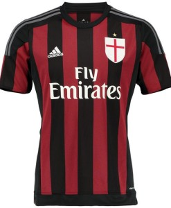 adidas ACミラン 15/16 ホーム シャツ Red/Black