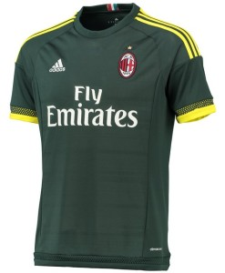 adidas ACミラン 15/16 3rd ユニフォームシャツ Green