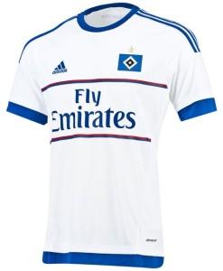 adidas ハンブルガーSV 15/16ホーム ユニフォームシャツ White