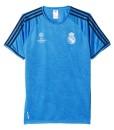 adidas レアルマドリード 15/16CLトレーニングジャージシャツ Blue
