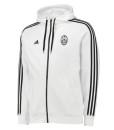 adidas ユベントス ストライプパーカー White