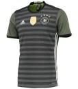 adidas ドイツ 2016アウェイユニフォーム Black