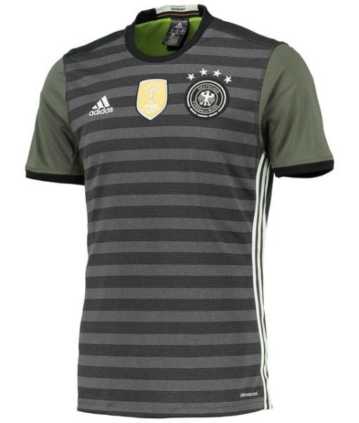 adidas ドイツ 2016アウェイユニフォーム Black 1