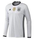 adidas ドイツ 2016ホーム 長袖ユニフォーム White
