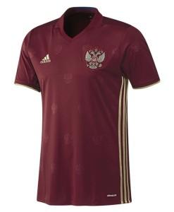 adidas ロシア 2016ホーム ユニフォーム Red