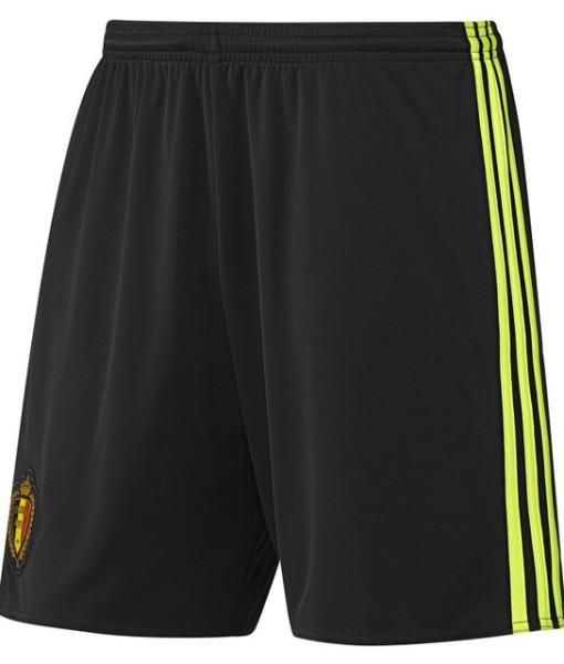 adidas ベルギー 2016ホーム ショーツ Black 1