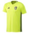 adidas スウェーデン トレーニングジャージシャツ Yellow
