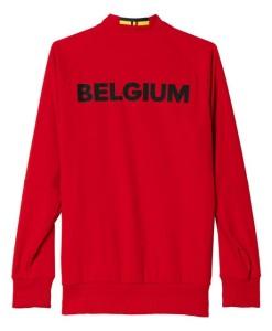 adidas ベルギー 2016アンセムジャケット Red