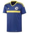 adidas ボスニアヘルツェゴビナ 2016ホーム ユニフォーム Blue