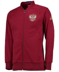 adidas ロシア 2016アンセムニットジャケット Red