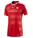 PUMA スイス 2016ホーム ユニフォーム Red