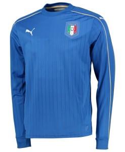 PUMA イタリア 2016ホーム 長袖ユニフォーム Blue