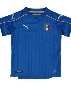 PUMA イタリア 2016ホーム ユニフォーム Kids Blue