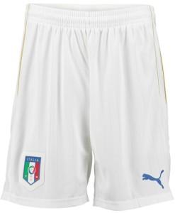 PUMA イタリア 2016ホーム ショーツ White