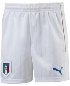 PUMA イタリア 2016ホーム ショーツ Kids White