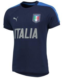 PUMA イタリア 2016トレーニングTシャツ Navy